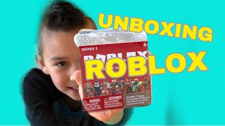Unboxing Roblox Toys Series 2