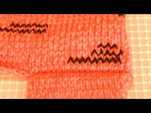 Видео: Плечевой шов по закрытым петлям | Вязание для начинающих