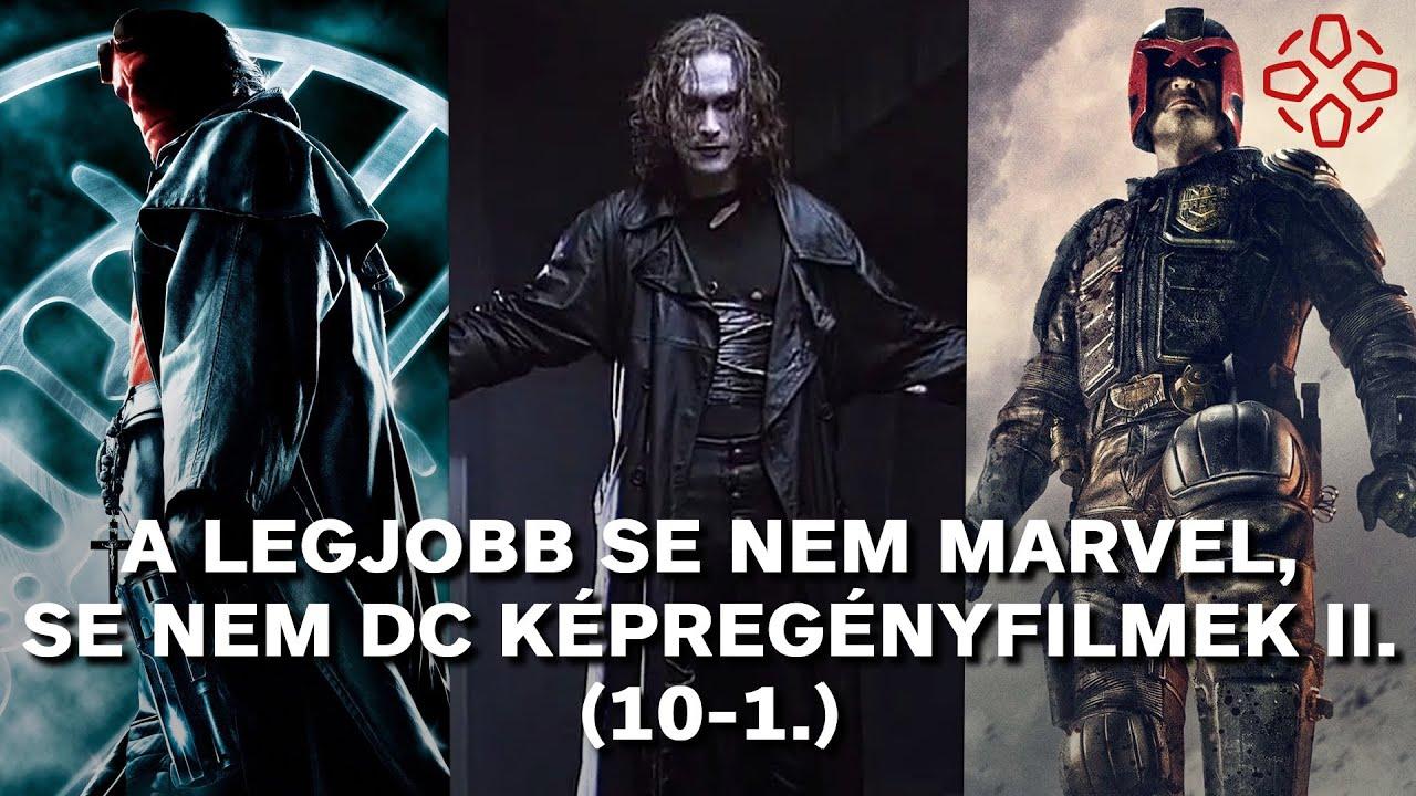 TOP 20: A legjobb se nem Marvel, se nem DC képregényfilmek II. (10-1.)