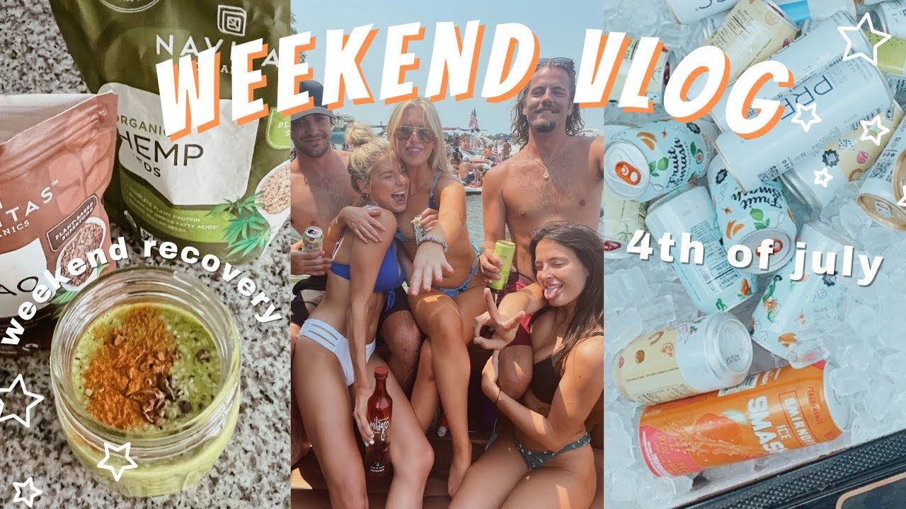 weekend vlog: fourth of july   trying to have a productive monday lol