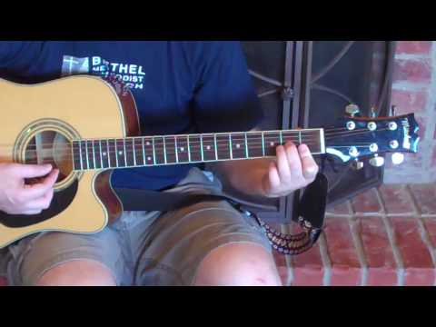 How To Play A Dm7 Chord On Guitar - YouTube