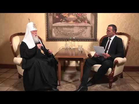 Актуальне інтерв'ю. Патріарх Філарет. Про об'єднання православних церков