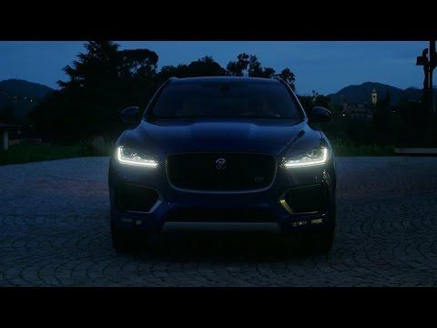 Jaguar F-Pace первый кроссовер марки! Обзор Александра Михельсона