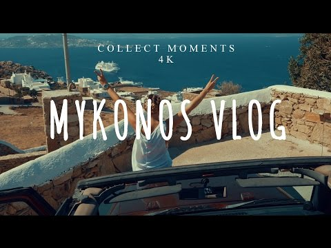 MYKONOS VLOG 4K | Greece Costa Cruise | DAY 5