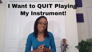 I Want To Quit My Instrument!! Watch This First