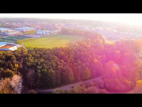 Princess Anne Park, Washington, Tyne and Wear UK DJI Drone Mavic mini