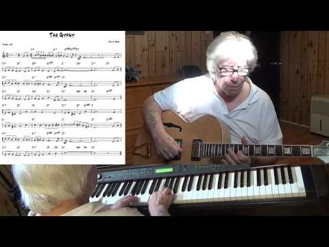The Gypsy - Jazz guitar & piano cover - Yvan Jacques