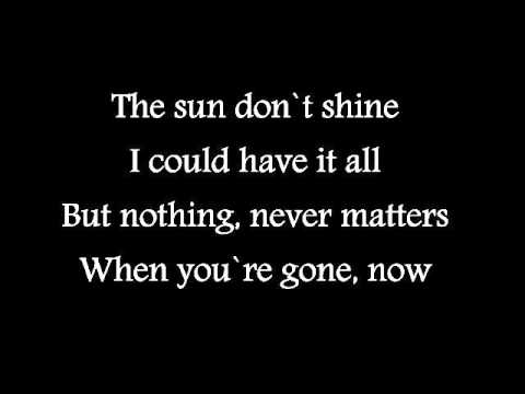Faydee - Sun Don't Shine (Lyrics)
