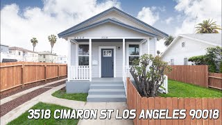 [Virtual Tour] 3518 Cimaron st Los Angeles 90018 CA