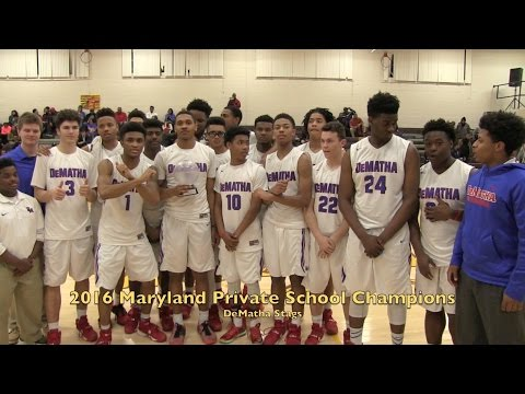 DeMatha defeats Capitol Christian in run-away fashion to claim 2016 Maryland Private Championship