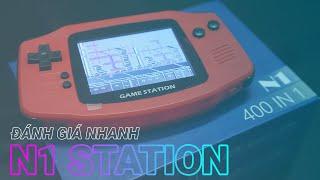 Mở hộp và trên tay nhanh máy chơi game 4 nút Station N1 Pro bản nâng cấp của SUP G4 Plus
