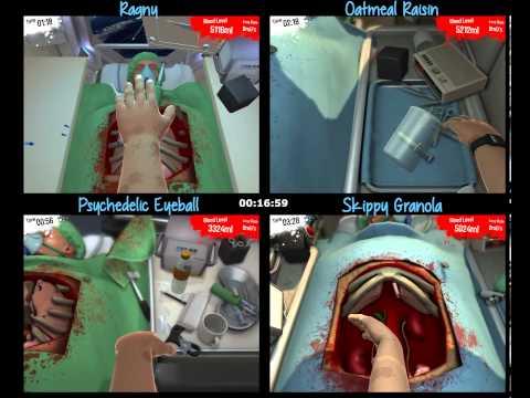 Bob's bad gut day: A Surgeon Simulator 2013 Race