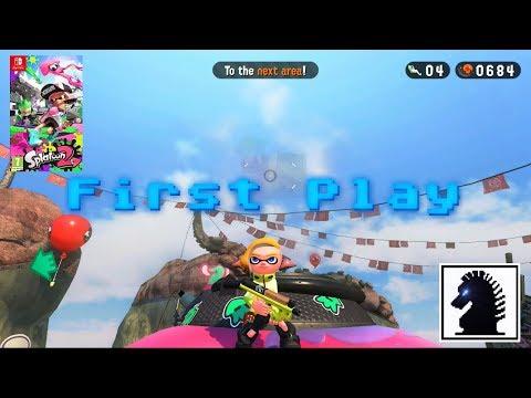 NS First Play - Splatoon 2 - Hero Mode Sector 1: Tentakeel Outpost