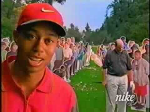 Funny Golf Commercial -- Tiger Woods -- Golf's Not Hard -- Slice Solution