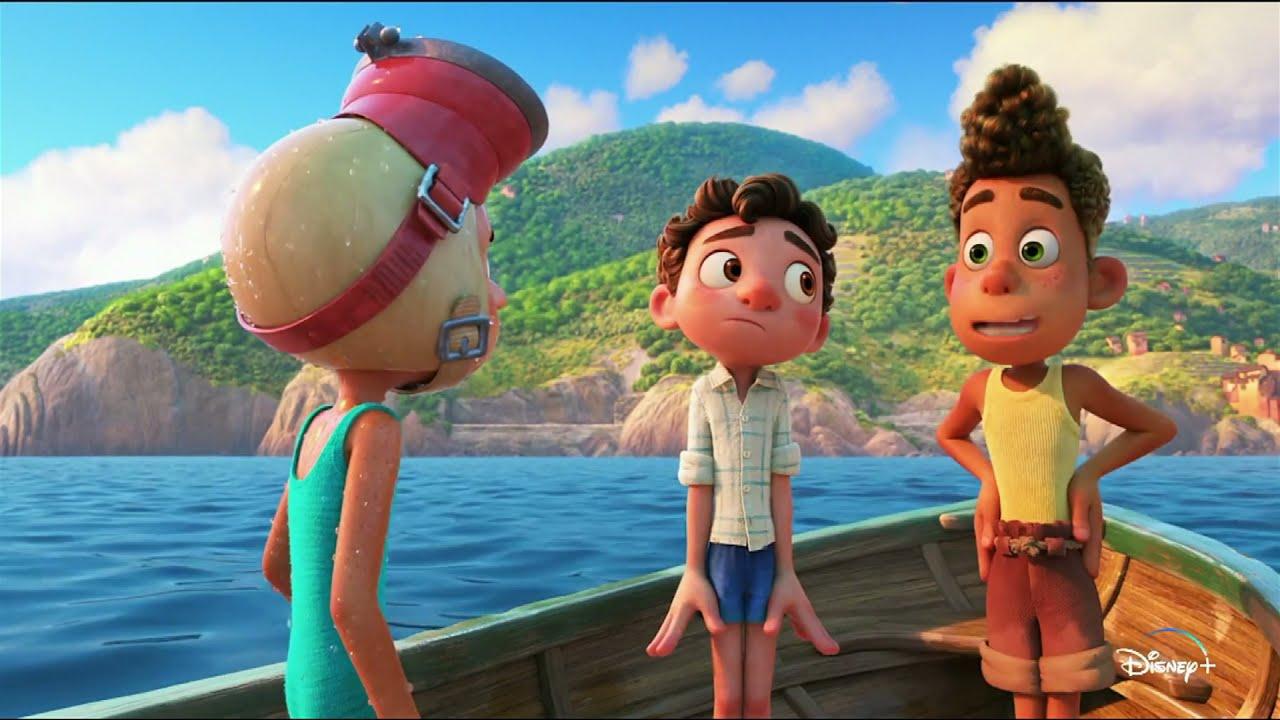 """Musique de la pub Disney+ Luca Pixar """"exclusivement en streaming le 18 juin""""  Juin 2021"""