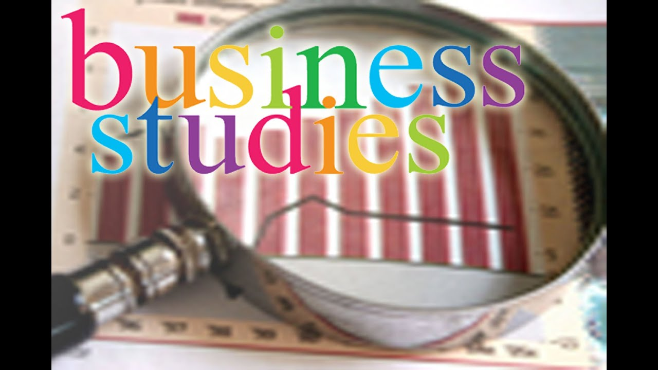 Business Studies A- Level Paper 1 - YouTube
