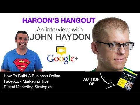 Facebook Marketing For Dummies - John Haydon Interview