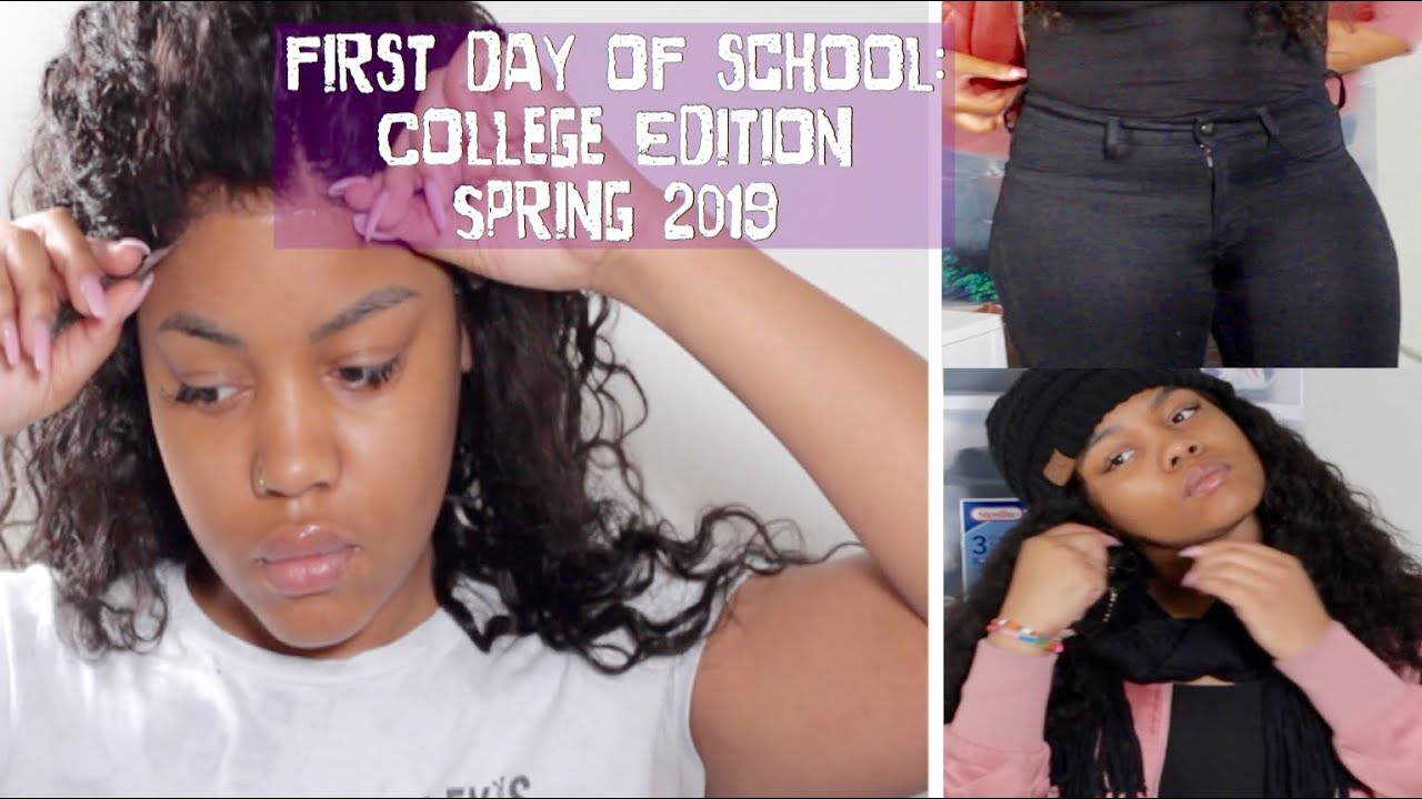 First Day Of School Grwm College Edition Spring 2019 Ft Ywigs Youtube College kings just an innocent freshman at san vallejo college, you are oblivious to the path that lays ahead of you. youtube
