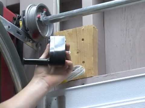 Liftmaster 3800 Installation Instructions Install the