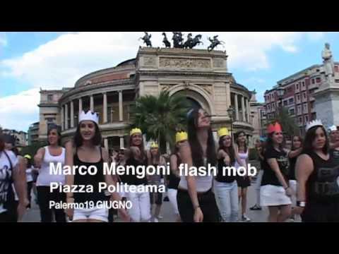MARCO MENGONI FLASH MOB PALERMO 19 GIUGNO