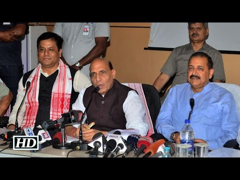 Rajnath reviews Assam flood situation, no special package announced