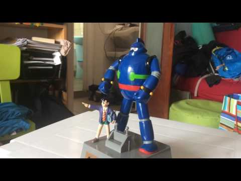 Tetsujin 28-go (gigantor)  moving coin bank Banpresto