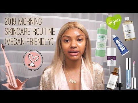 2019 Morning Skincare Routine VEGAN FRIENDLY | Jazzie Jae T