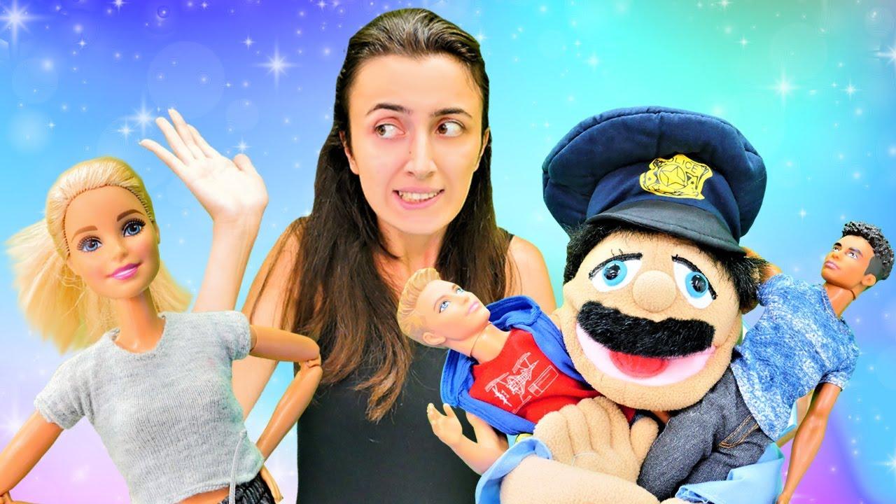 Barbie oyunları Sevcan ile.  Barbie komşusu yüzünden polis çağırıyor