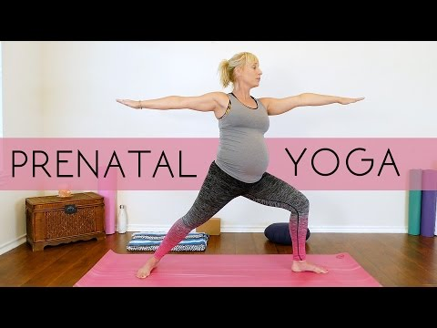 Prenatal Yoga for Beginners, All Trimesters, Weight Loss & F