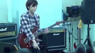 弓木英梨乃(ERINO YUMIKI)のギターセミナー けいおん!!(K-ON!!)GO! GO! MANIAC」(ゴー・ゴー・マニアック) けいおん! 動画 20