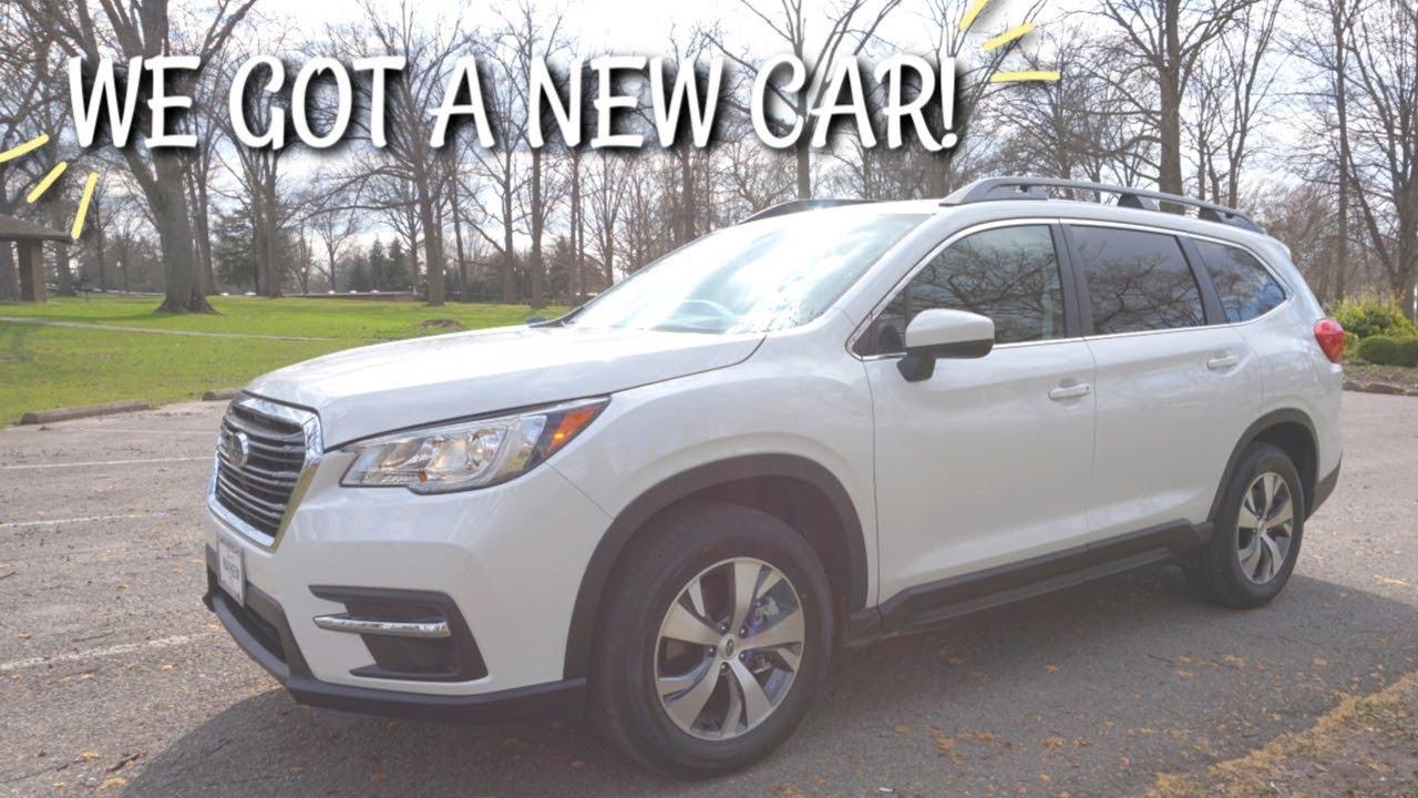We Got A New Family Car 7 Passenger 2019 Subaru Ascent Premium Youtube