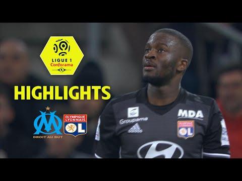 Olympique de marseille - olympique lyonnais (2-3) - highlights - (om - ol) / 2017-18