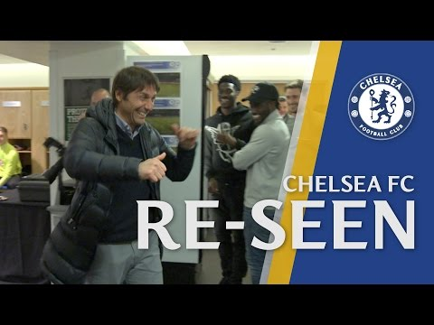 He's behind you! Dancing Chalobah doesn't realise Conte is there and the whole changing room laughs