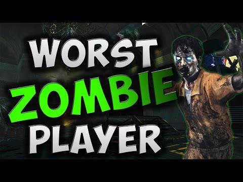 Black Ops 1: Worst Zombie Player Ever! (Salty AF)