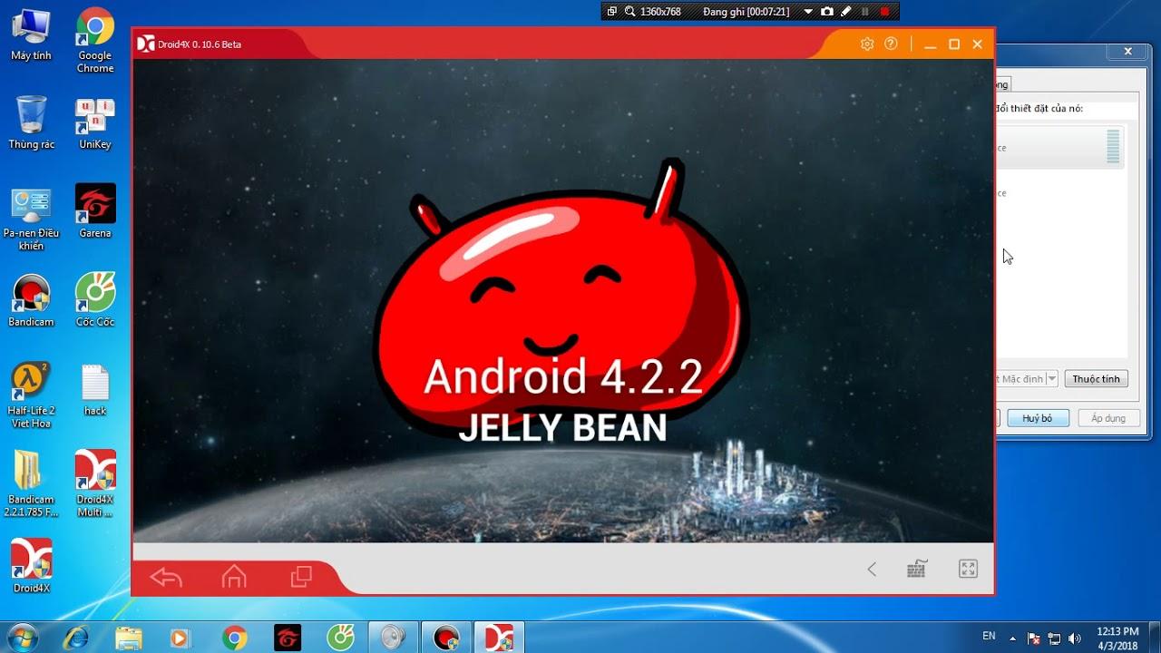 Cánh cài trình giả lập android cho PC cấu hình yếu :)