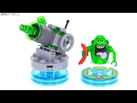 LEGO Dimensions Ghostbusters Slimer Fun Pack review! 71241 - YouTube