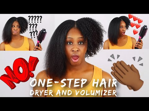 IS THIS BLOW DRYER BRUSH REALLY WORTH THE HYPE?! | Shlinda1