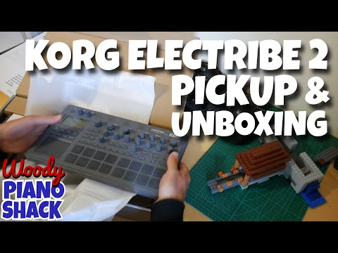 Korg Electribe 2 Demo & Review 01 - Pickup, unboxing and first impressions