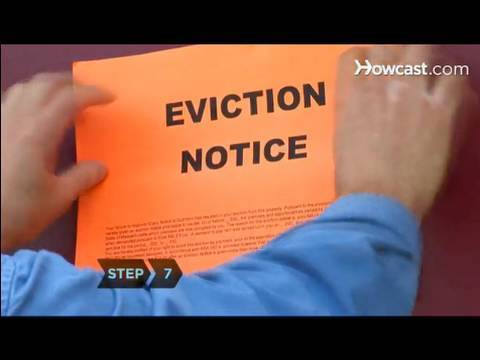 How to Evict a Tenant - YouTube