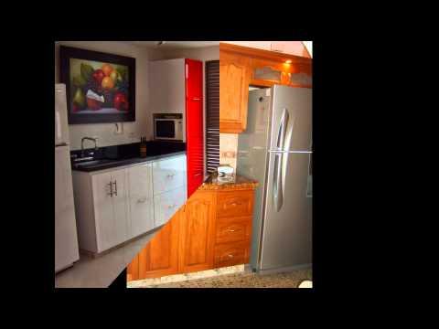 Enchape de cocina y meson doovi for Enchapes para cocina