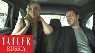 В такси со звездой: Мария Шарапова о своих мыслях во время игры