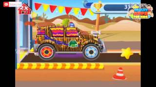 A funny Dream Cars Factory - iPad app demo for kids - Ellie