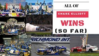 All of Chase Elliott's Nascar Wins (So Far)