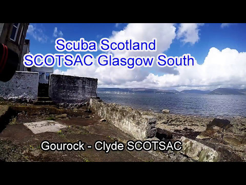 Diving in Gourock  with Clyde SCOTSAC