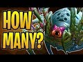 Hadronox was played HOW MANY TIMES?!   Dollmaster Dorian Druid   The Boomsday Project   Hearthstone