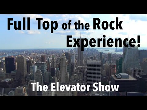 Full Top of the Rock Experience - The Elevator Show