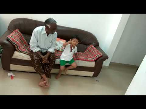My 2year old son answering general knowledge questions