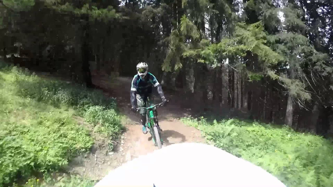 Z Line Bikepark Saalbach Hinterglemm 2015 Youtube
