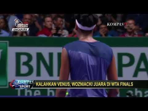 WTA FInals: Caroline Wozniacki Kalahkan Venus Williams