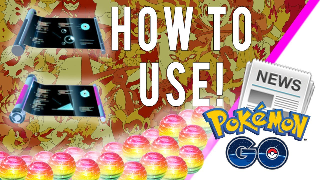 Pokemon Go New Items Explained How To Use Fast Tm Charged Tm And